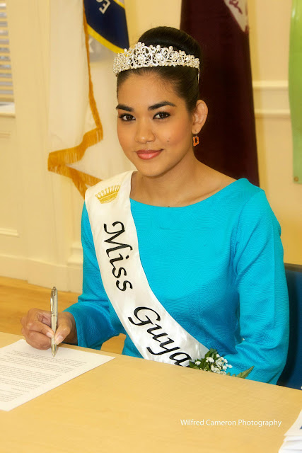 Miss World Guyana 2012 Arti Cameron