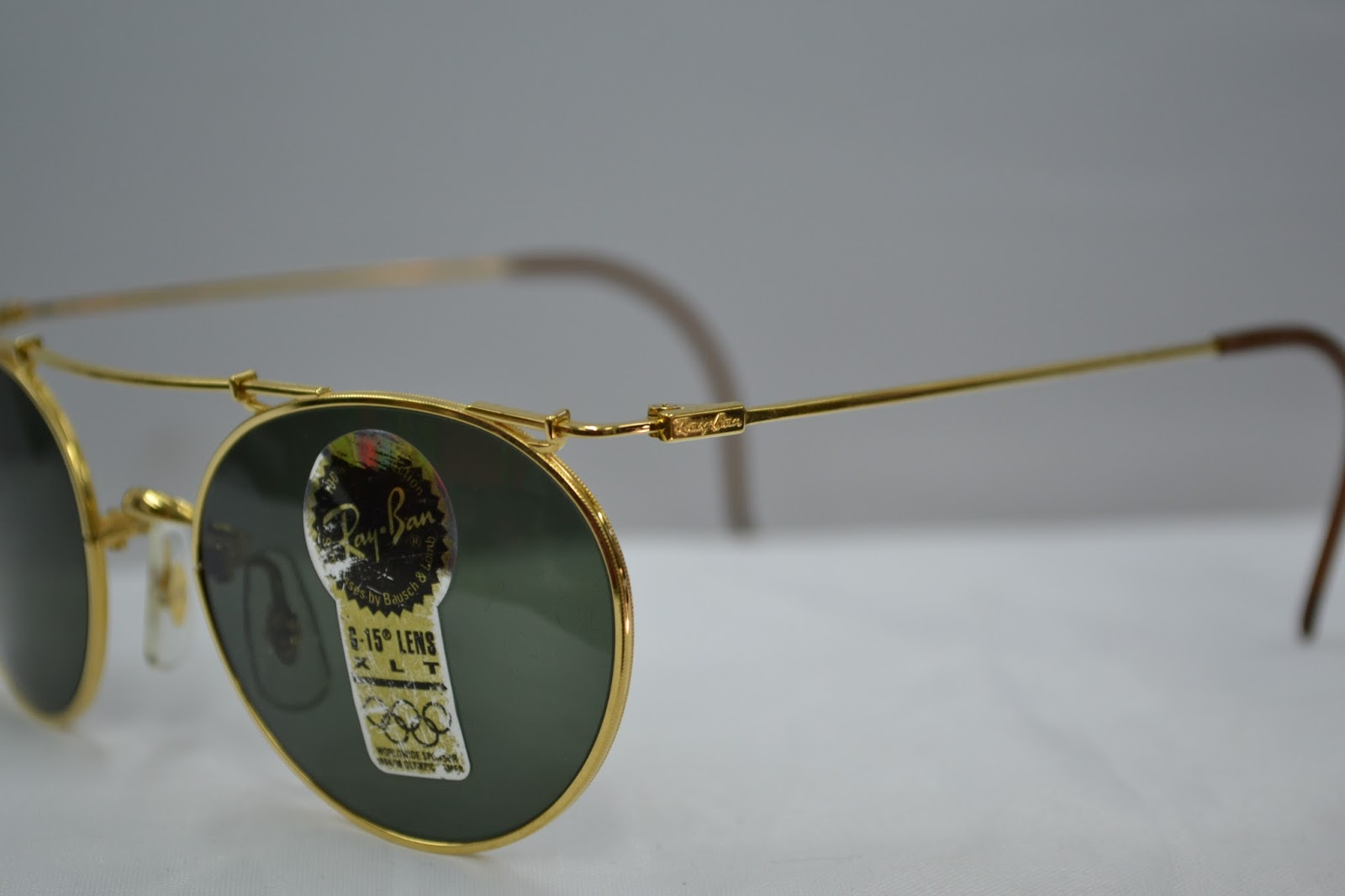1d19e36948 ireland wellcome you are looking at a unique vintage ray ban bl deco metal  series sunglass