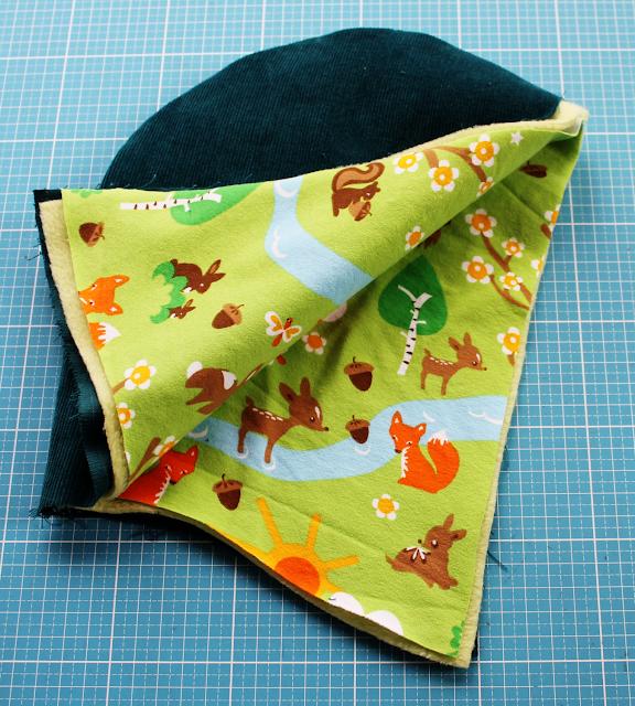 Herbstkind sew-along: gefütterte Kapuze