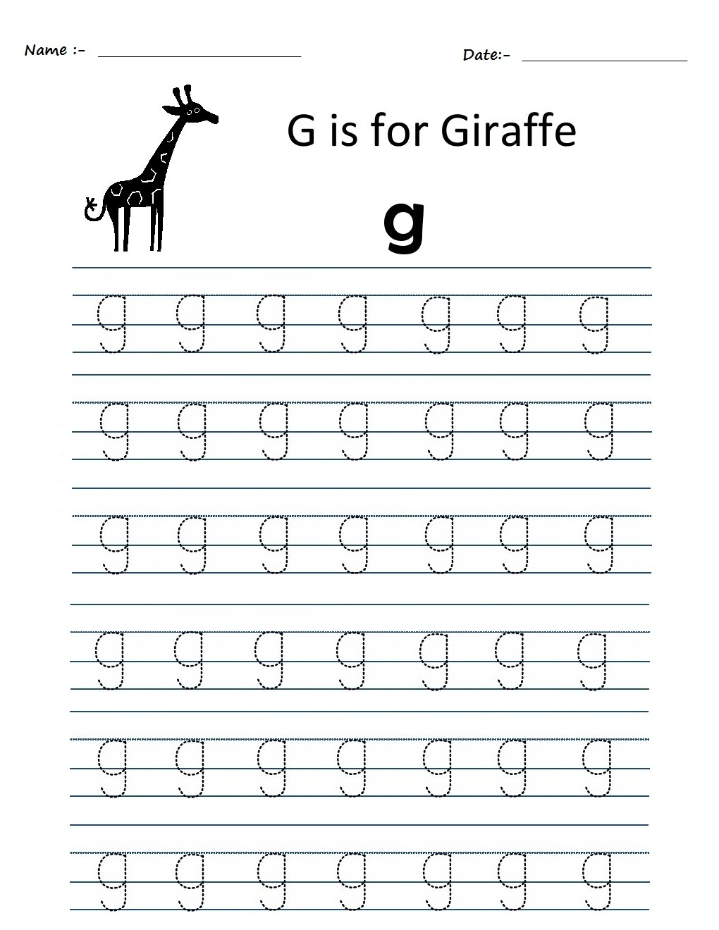 math worksheet : kindergarten worksheets alphabet tracing worksheets  g : G Worksheets For Kindergarten