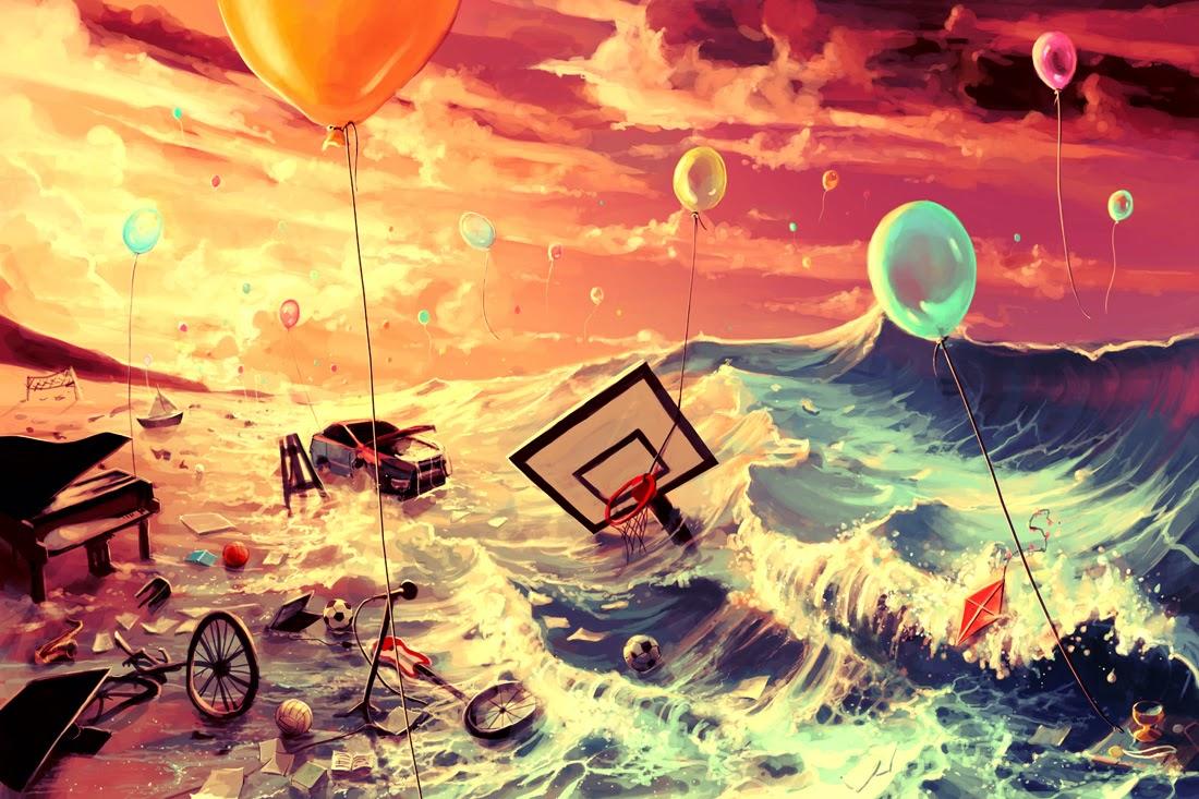03-Dont-trash-your-dreams-Rolando-Cyril-aquasixio-Surreal-Fantasy-Otherworldly-Art-www-designstack-co