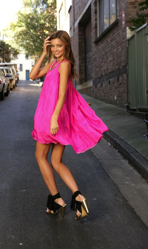 An Ode To Summer: The Little Pink Dress