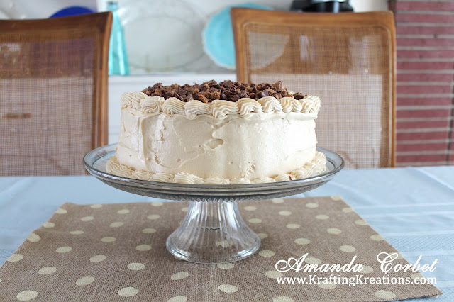 Easy Peanut Butter Cake