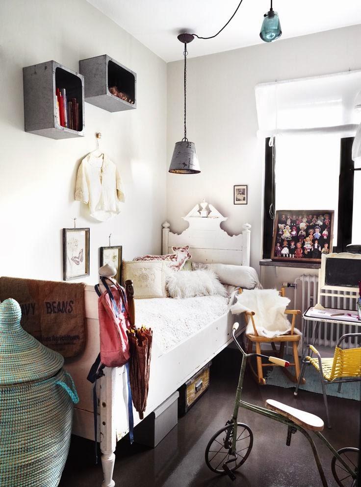 Dormitorios infantiles y juveniles con un look vintage etxekodeco - Dormitorios infantiles vintage ...