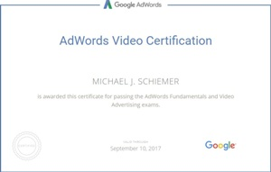 Google AdWords Certified Pro