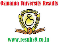 Osmania University BBA and LLB August Results 2013