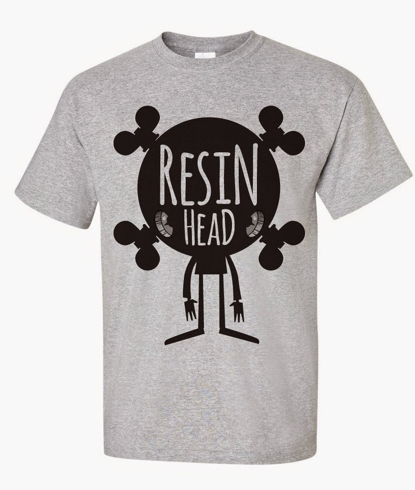 Resin Head T-Shirt by UME Toys