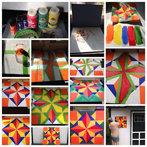Creating a barn quilt