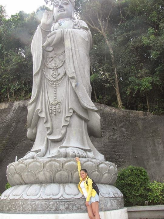 Statue of Guan Yin, the goddess of mercy.