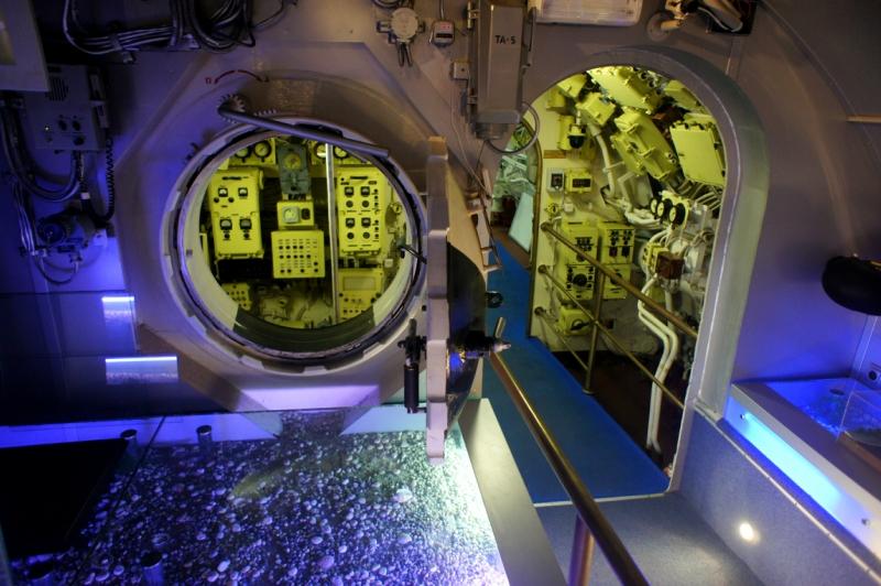 фотоэкскурсия по подводной лодке