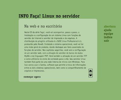 CURSO INFO - FAÇA LINUX NO SERVIDOR