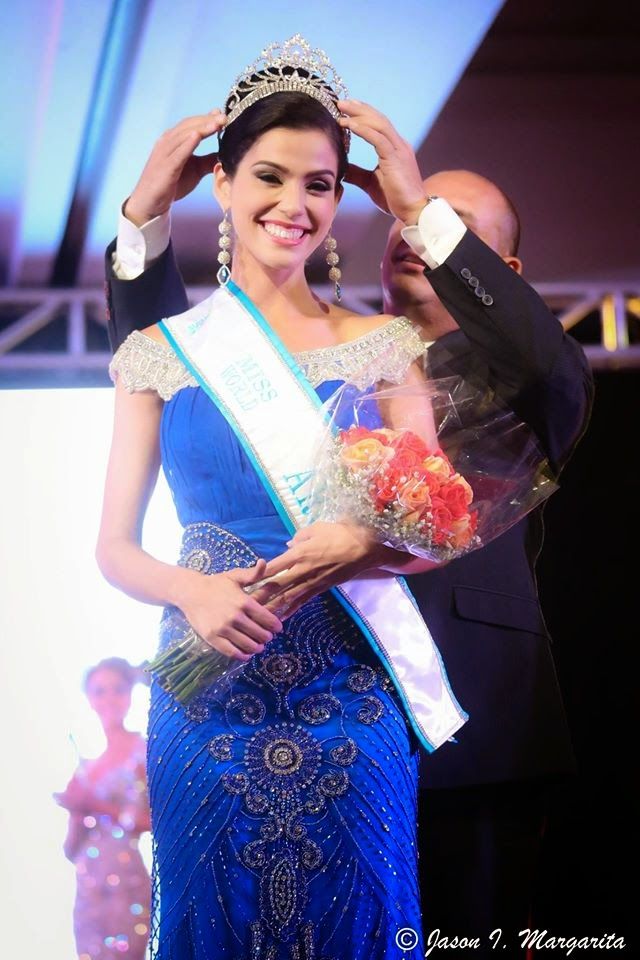 Miss World Aruba 2014 winner Joitza Henriquez