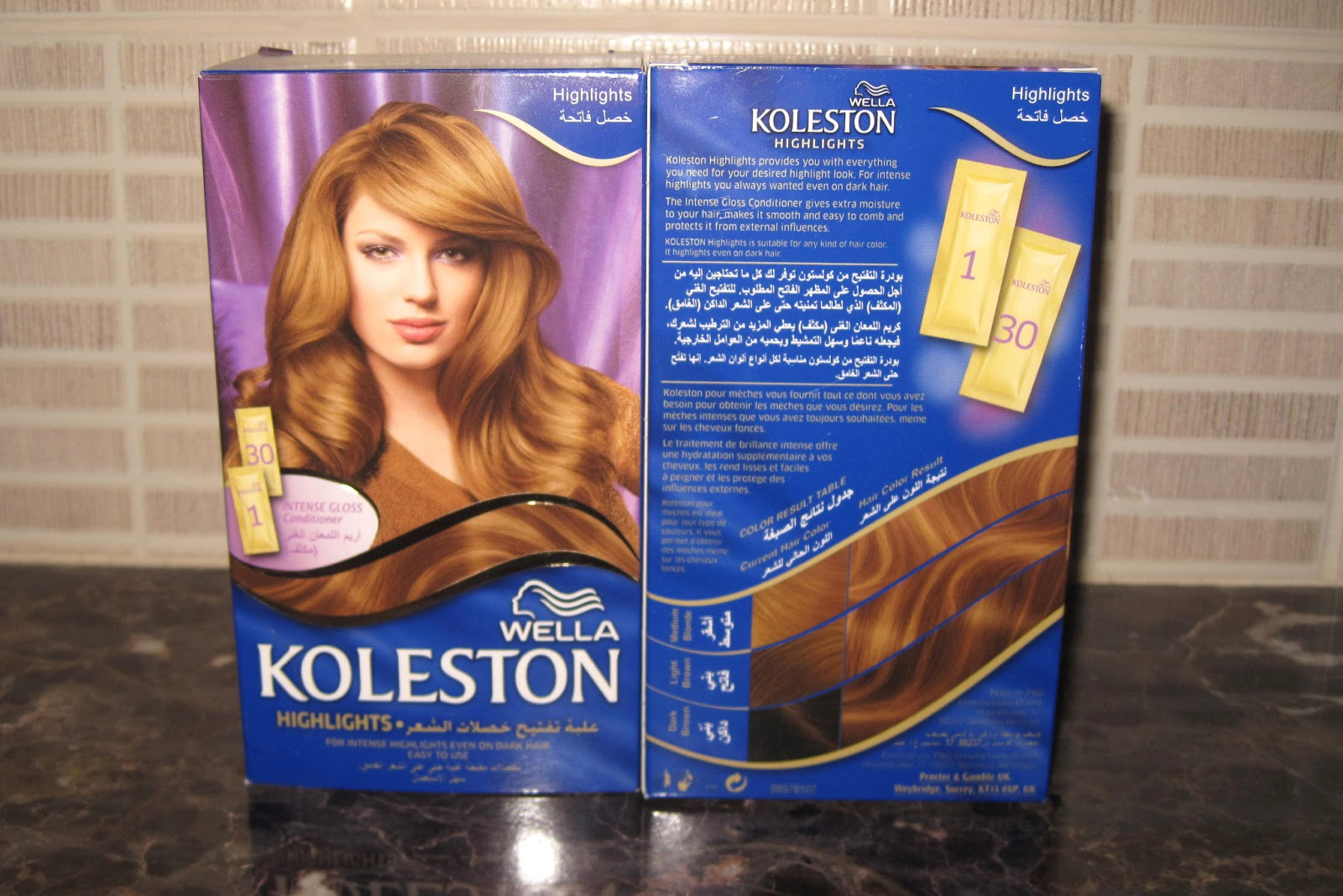 highlights wella koleston - Coloration Wella Koleston