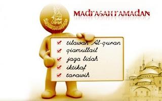 Amal Ibadah di Bulan Puasa Ramadhan