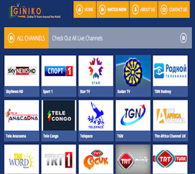 View GINIKO TV Channels