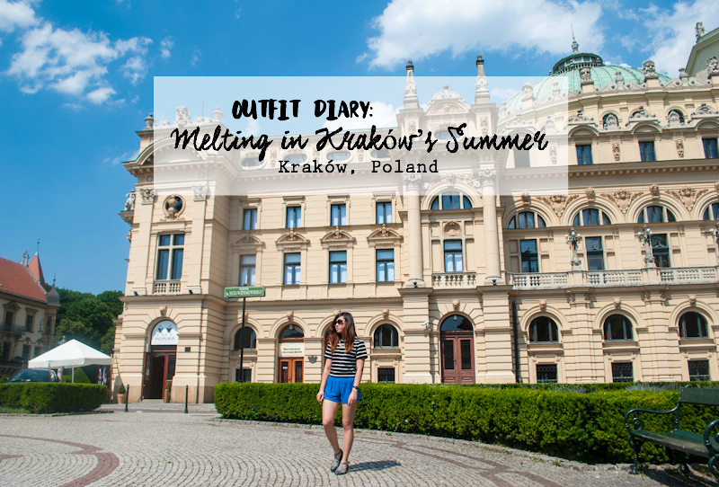 Outfit and things to do in Kraków, Poland on a sunny day