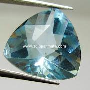 Batu Permata Blue Topaz - 07K07