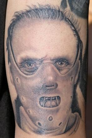 Tatuaje de Hannibal Lecter