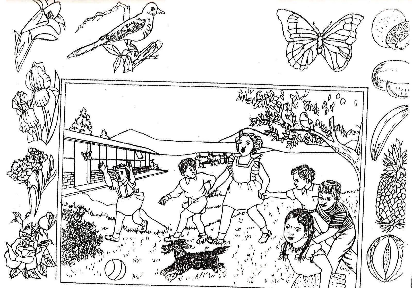 best Dibujos De Paisajes Sobre La Primavera image collection