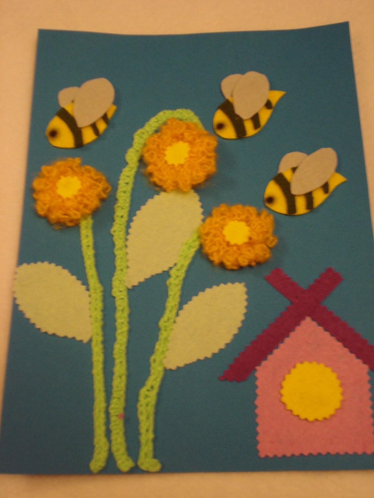 Пчёлка поделка своими руками из бумаги