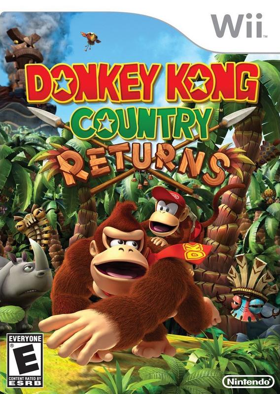 Donkey Kong Country Returns [Wii][PAL][Español][UA]
