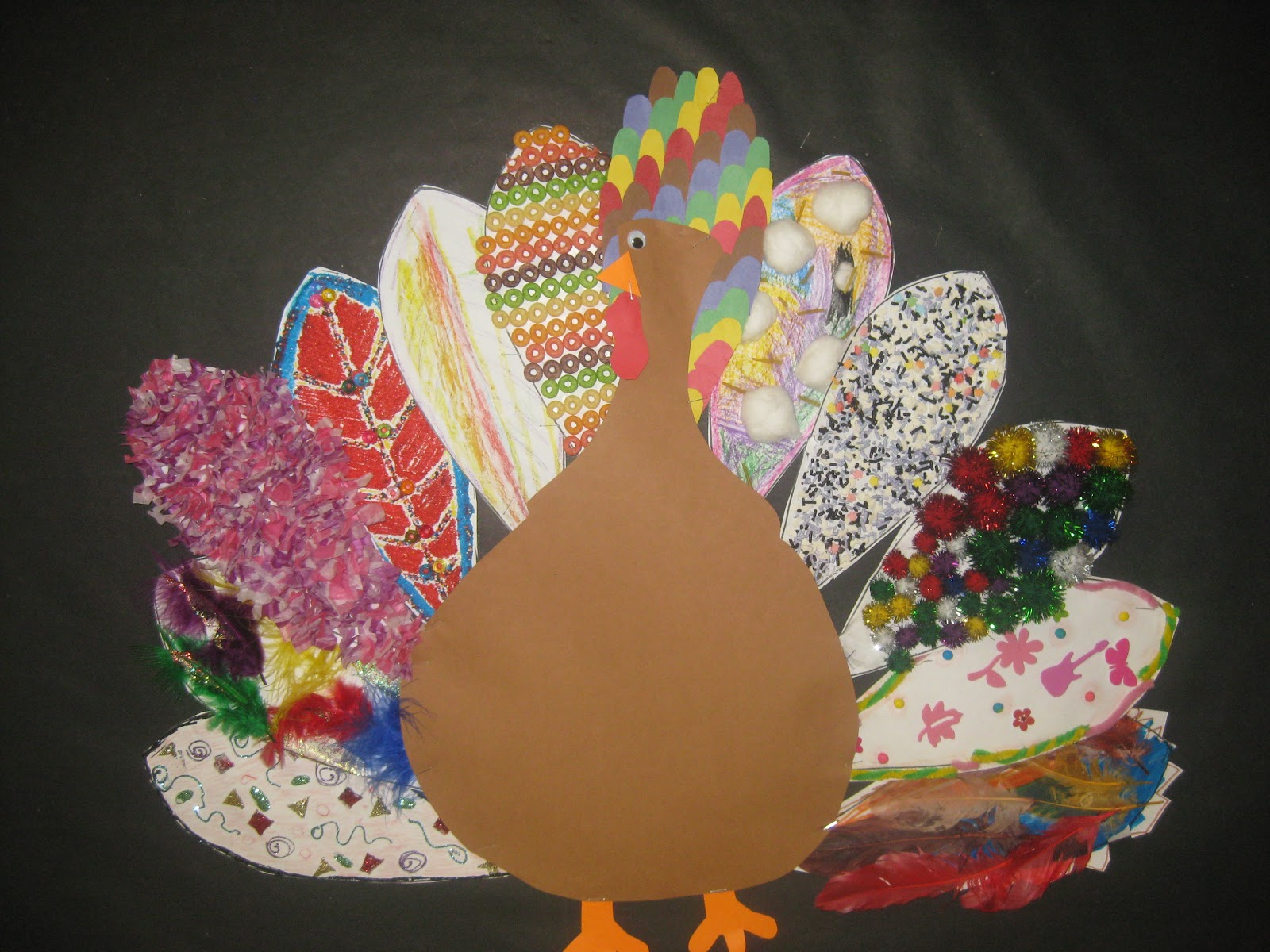 Decorate a turkey images ways to