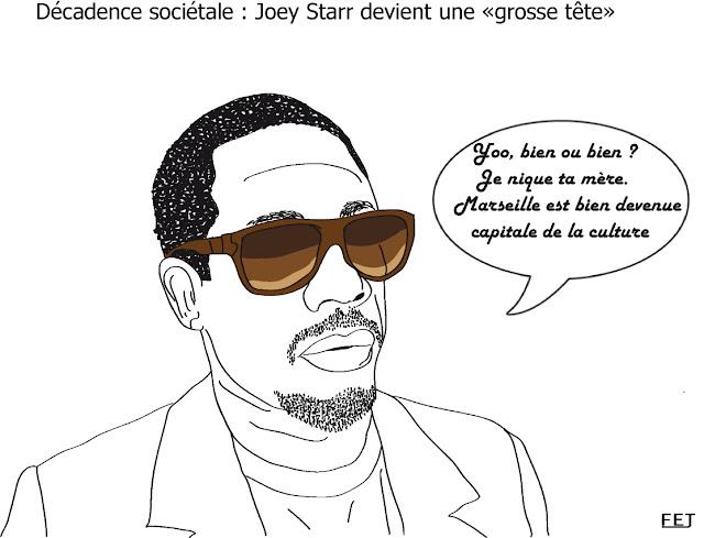 joey-starr-participe-aux-grosses-têtes-sur-rtl-fej-dessin