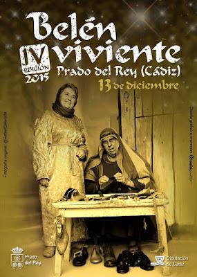BELÉN VIVIENTE DE PRADO DEL REY 2015 - CÁDIZ