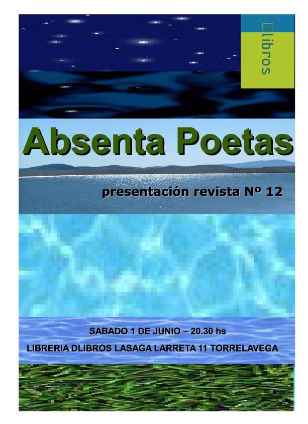 Presentaci n en torrelavega del n 12 de absenta poetas en la librer a dlibros - Librerias torrelavega ...