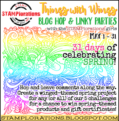 Get Ready for Things with Wings Blog Hop