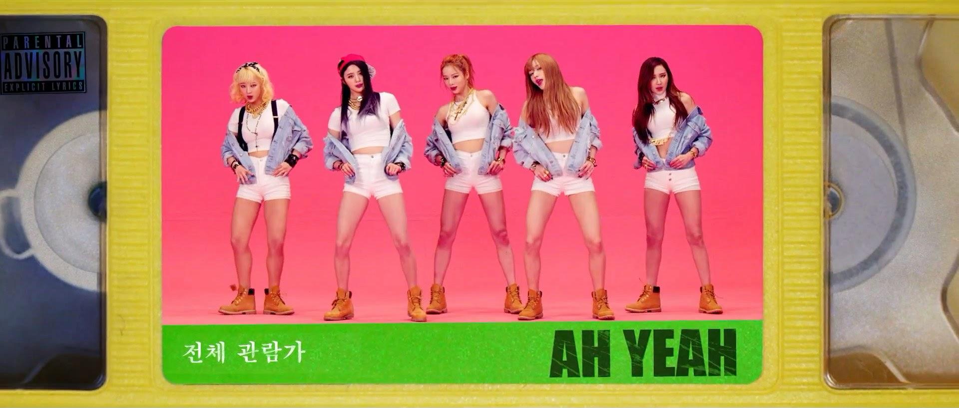 EXID Ah Yeah MV