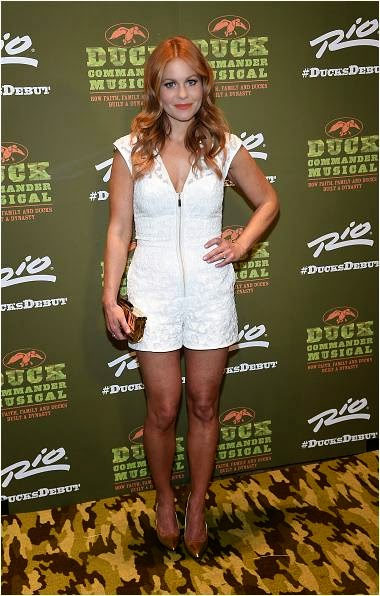 Candace Cameron-Bure at Duck Commander Musical