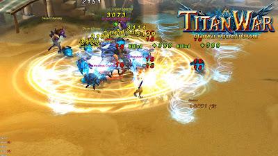 Titan War открытый бета тест