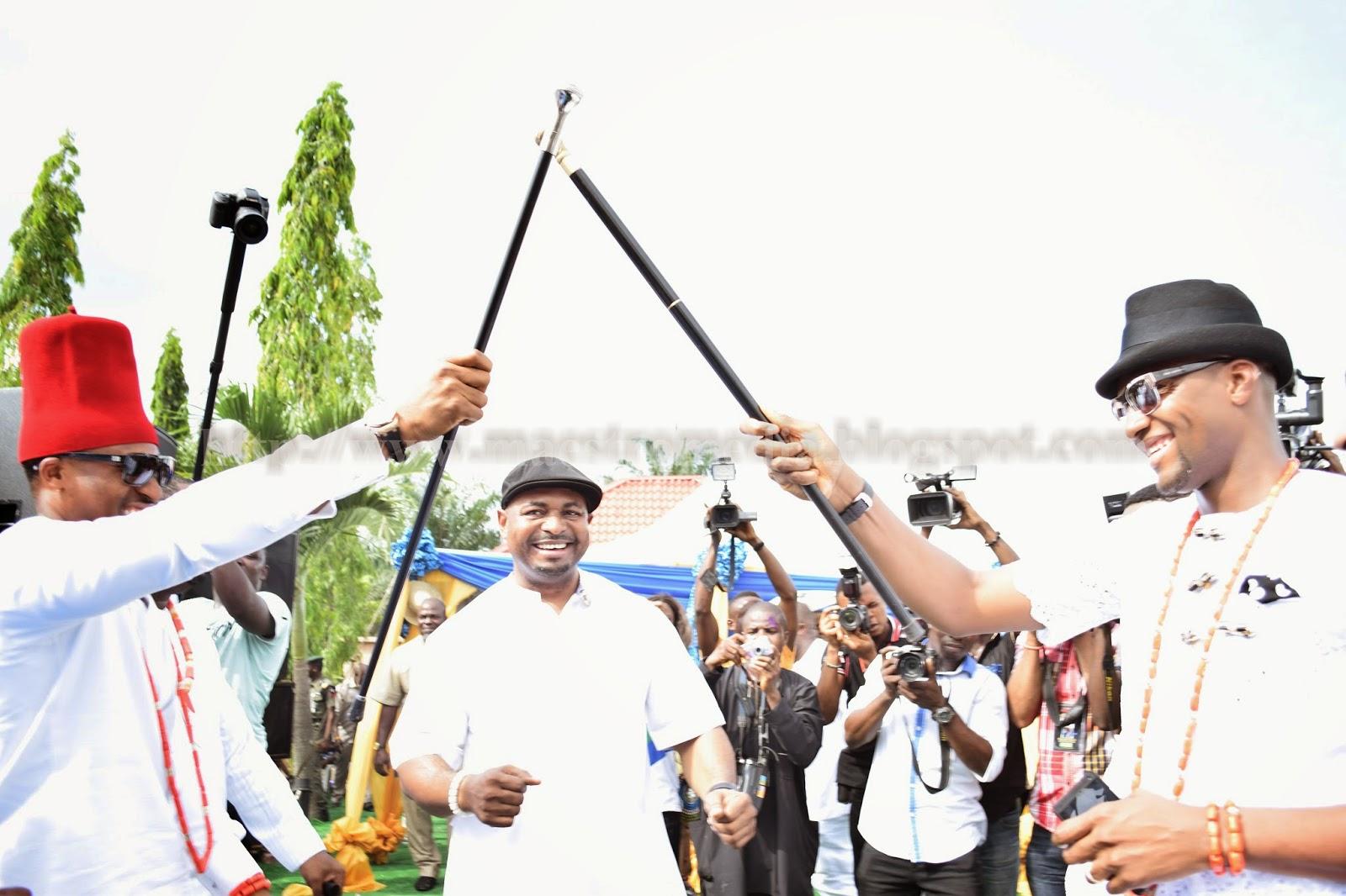Maestros media carnival in igbere at ezinne kelechis igba nkwu kels greeting chima m4hsunfo