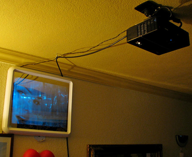 Diy short throw avs forum home theater discussions for Mirror projector
