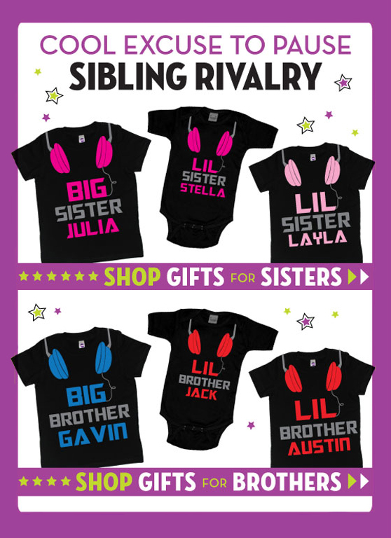 Big and Little Sister Gifts, Big and Little Brother Gifts