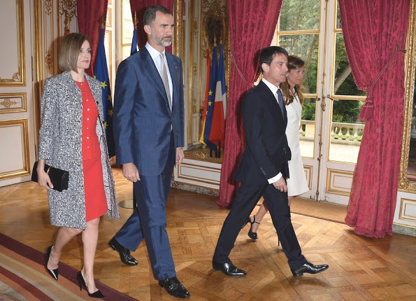 Queen Letizia And King Felipe on Official Visit To France, Day 2