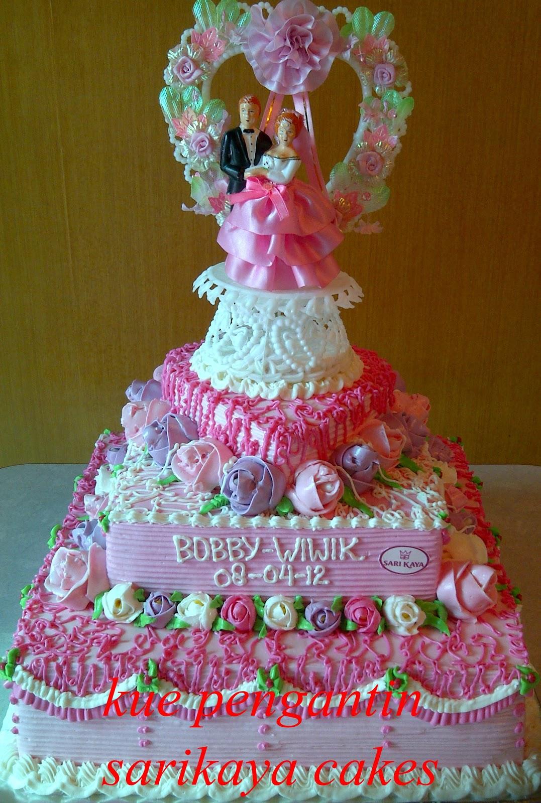 sarikaya cakes kue pengantin stack by sarikaya cakes