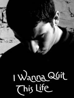 I Wanna Quit This Life 240x320 Mobile Wallpaper