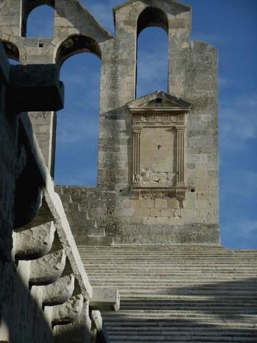 4 Vue extérieur - Abbaye de Montmajour