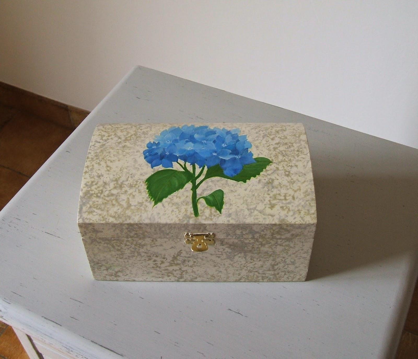 Peinture D Corative Sur Bois Coffrets