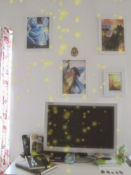 EV Artist Tricia Danby's Art Workspace