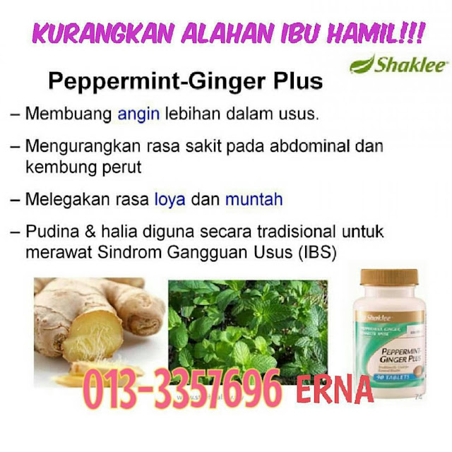 Pepermint Ginger Plus Shaklee