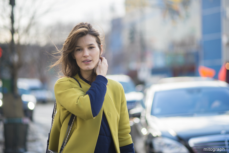Hanneli Mustapatra After Rodarte New York Fashion Week 2013-2014 Fall Winter NYFW Street Style Shimpei Mito