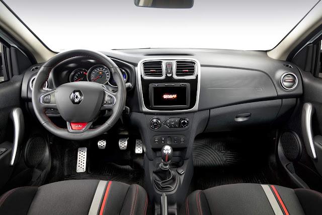 novo Renault Sandero R.S. 2.0 2016