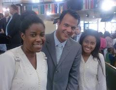 Adriana,Gustavo Bessa e Miriã.