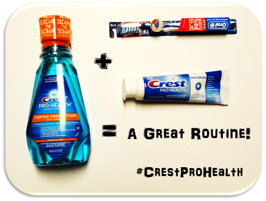 Are you Pro-Health When It Comes To Your Dental Hygiene Routine? #CrestProHealth