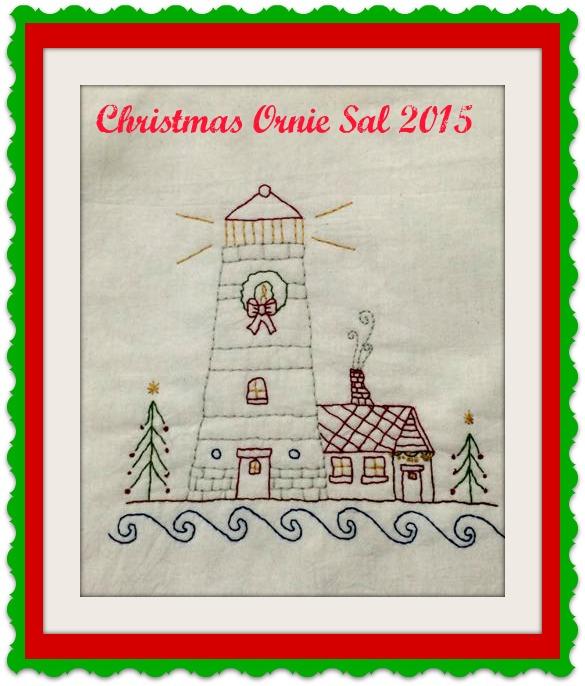 Christmas Ornie SAL 2015