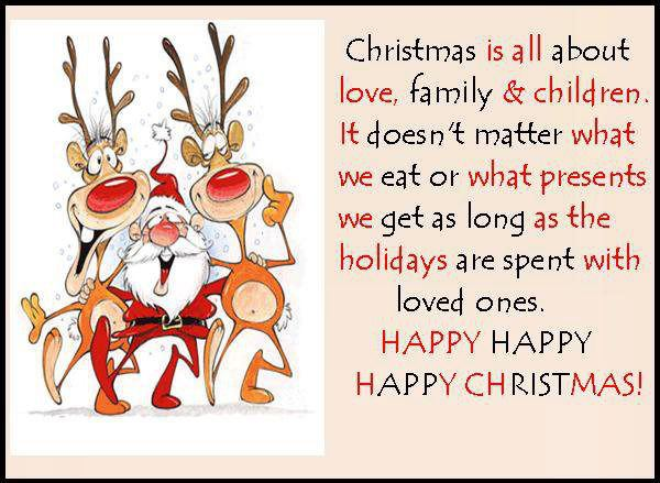 Happy Christmas Quotes Sayings