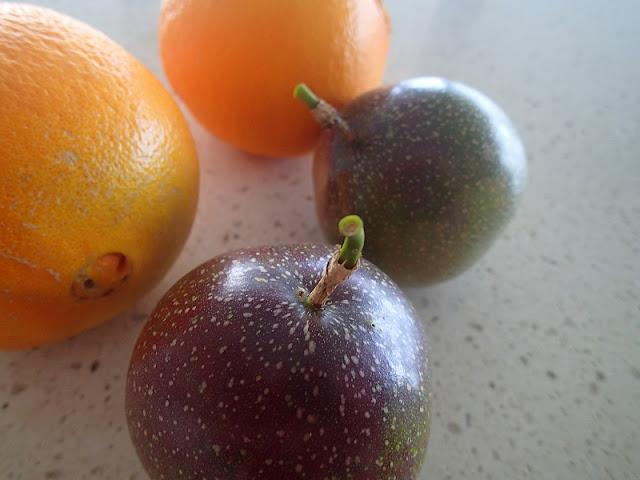 P6090012 - Passionfruit, Orange and Coconut Sago Pudding
